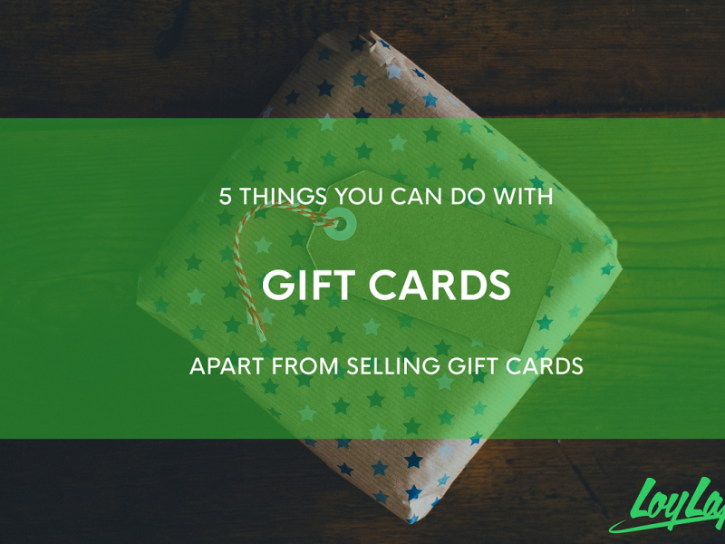 Do more with Gift Cards than just selling them